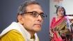 Abhijit Banerjee meets novelist Nabaneeta Dev Sen