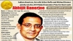 Abhijit Banerjee: Erudite economist's remarkable academic journey from Kolkata to Massachusetts
