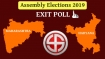 Exit Poll Results 2019 updates: BJP-Shiv Sena set to return in Maha; Vadra-Cong routed in Haryana