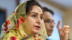 Pakistan making 'business out of faith', Harsimrat on Kartarpur service charge