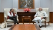 Abhijit Banerjee calls on Modi, PM says
