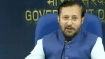 Javadekar for creating urban forests; school students planting trees