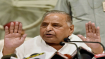 Mulayam complains of stomach ache, admitted to hospital