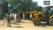 WATCH: Woman sarpanch of Rajasthan climbs JCB to stop anti-encroachment drive