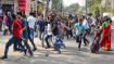 CAA protest: Bomb hurled at police, Howrah DCP injured