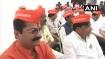 BJP MLAs wear 'I am Savarkar' caps in protest against Rahul Gandhi's remarks