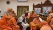 PM Modi visits Belur Math; unveils Dynamic Architectural Illumination of lights of Howrah Bridge
