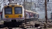 Maha: Woman hit by train while walking near rail track with earphones on
