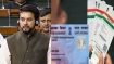 Over 30 cr PANs linked with Aadhaar so far: Anurag Thakur