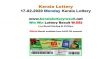Kerala Lottery Win Win W-552 today lottery result LIVE