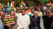 People raise 'shoot the traitor' slogans during Kapil Mishra rally