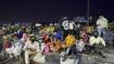 Migrants pelt stones on MP border demanding food and transport