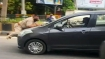 Punjab: Cop dragged on car bonnet in Jalandhar