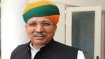 Arjun Meghwal tests positive for coronavirus