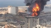 Huge fire breaks out at Beirut port a month after explosion