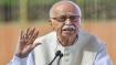 Babri verdict vindicates BJP's commitment towards Ram Janmabhoomi: Advani