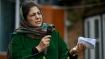 Miffed at Mehbooba Mufti's tricolour remarks, protesters try to hoist National flag at PDP office