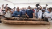 Sealed for 2,500 years, archaeologists open ancient mummy coffin in Egypt