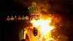 COVID effigies new addition at Dussehra celebrations across country