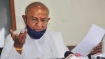 Treat farmers with dignity: Deve Gowda