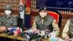 Terror on its last leg in north Kashmir says J&K police chief