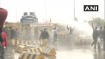 Haryana Police uses water cannons, tear gas to disperse Punjab farmers at Shambhu border