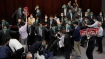 Hong Kong lawmakers arrested for disrupting legislature