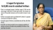 Sitharaman announces Rs 65,000 crore fertiliser subsidy for farmers
