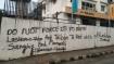 Lashkar Zindabad:  Graffiti in support of terror groups surfaces in Mangaluru