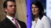 Donald Trump Jr targets Nikki Haley for lack of action over vote fraud claim