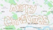 52-year-old cyclist spells out 'Merry Christmas' on London map