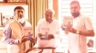 Former PM Deve Gowda releases biography of Prof C N R Rao written by Arvind Yadav