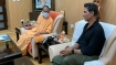Bollywood actor Akshay Kumar meets Uttar Pradesh CM Yogi Adityanath in Lucknow