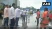 Shiv Sena MLA makes contractor sit on waterlogged street, dumps garbage on him