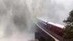 'Breathtaking': Watch train passing through Goa's Dudhsagar waterfall halted due to heavy rains