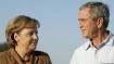 George W. Bush: Angela Merkel 'is not afraid to lead'