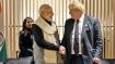 Modi-Johnson handshake election leaflet: Clash in UK Parliament