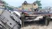 Uttarakhand: Road caves in, Rani Pokhari Bridge collapses as heavy rains hits Dehradun. Watch video