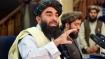 Taliban spokesman says US airstrike hits suicide bomber targeting Kabul airport