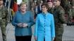 Merkel, Kramp-Karrenbauer meet Afghan veterans