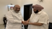 Amit Shah's residence is new centre of anti-Dalit politics: Congress on Singh-Shah meeting