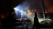 Major fire breaks out at Greek migrant camp