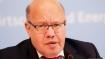German economy minister hospitalized