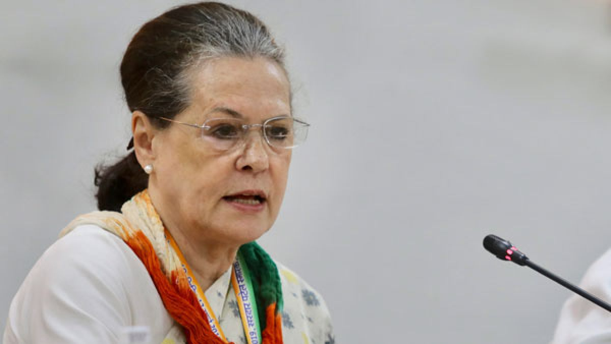 Congress president Sonia Gandhi asked Central government to lower the eligibility age for the COVID-19 vaccine to 25 in place of 45.