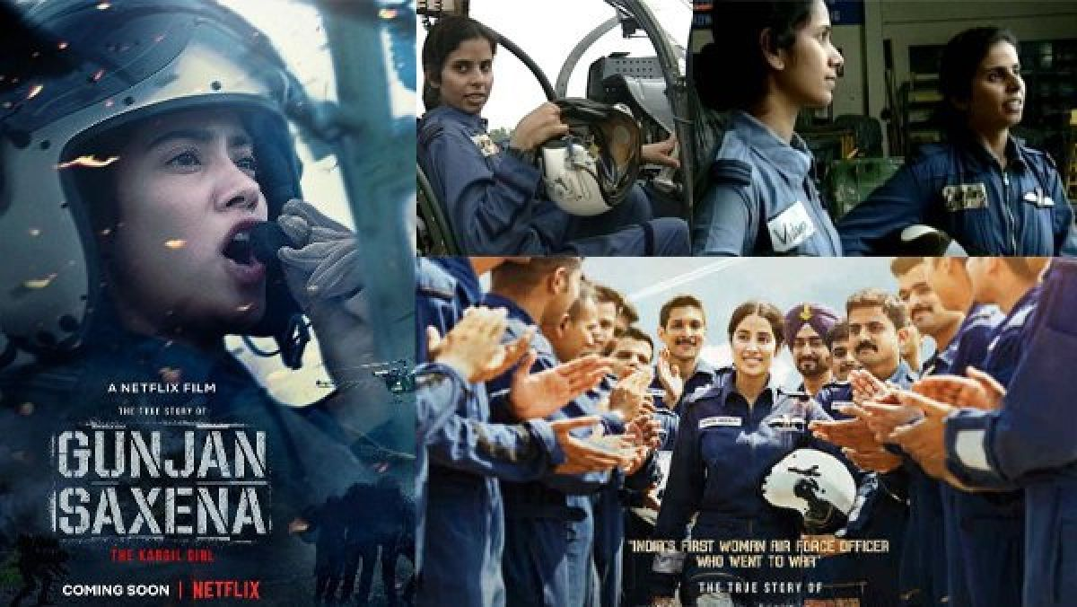 Iaf Objects To Negative Portrayal Of Work Culture In Gunjan Saxena The Kargil Girl Oneindia News
