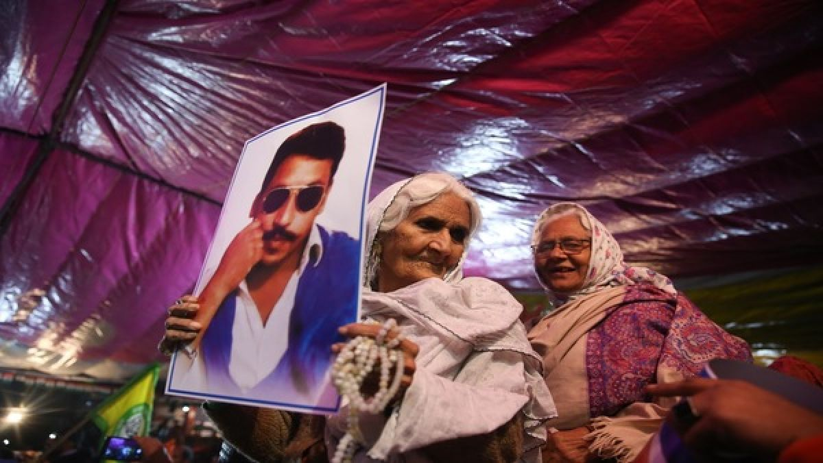 82-yr-old Shaheen Bagh protestor Bilkis in TIME's 100 Most Influential list