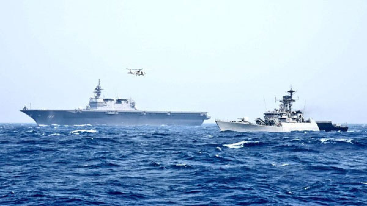 India, Japan begins 3-day naval exercise JIMEX today in Arabian sea
