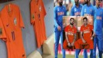 Cong, SP leaders suspect politics behind India's orange WC jersey, BJP calls them 'myopic'