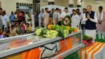 Mortal remains of BJP's Rajasthan chief Madan Lal Saini consigned to flames