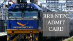 Confirmed: RRB NTPC Admit Card 2019 won't release this month, check tentative exam dates